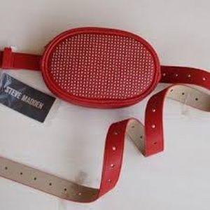 NWT Steve Madden Studded Belt Bag